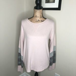 Hippie Rose Flannel Rose Top NEW!